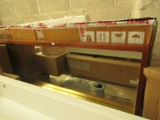 1 x Made.com Emsworth Full Length Mirror 40 x 120cm Mango Wood & Brass RRP £149 SKU MAD-AP-