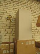 1 x Made.com Razan Set of 2 Tall Galvanized Square Planters Stone RRP £79 SKU MAD-AP-OACRAZ005STO-UK