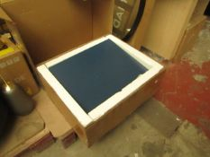 1 x Made.com Elona Bedside Dark Blue and Copper RRP £129 SKU MAD-AP-BSTELN130BLU-UK TOTAL RRP £129