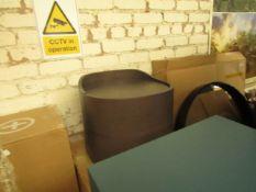 1 x Made.com Ada 2 Drawer Bedside Table Dark Stain Oak RRP £249 SKU MAD-STBADA011OAK-UK TOTAL RRP £