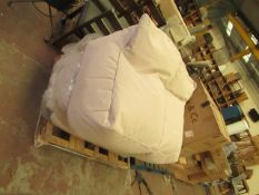 | 1X | EXTREME LOUNGING DOUBLE OUTDOOR BEANBAG | LOOKS UNUSED (NO GUARANTEE) | RRP CIRCA œ269 |