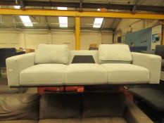| 1x | SWOON 3 SEATER SOFA | MISSING ONE CUSHION | RRP CIRCA - |