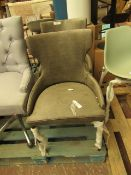 | 2X | COX AND COX BROOKLYN DINING CHAIR | LOOKS UNUSED (NO GUARANTEE) | RRP £650 |
