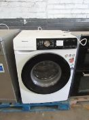 Hisense 9KG washing Machine with dose assist, Powers on and spins but we have not conencted it to