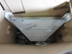 Electrolux 60cm Stainless teel extractor hood, has a couple of dents onit but looks unused (no