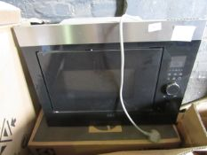 AEG Intergrated Microwave, works on basic check, with box