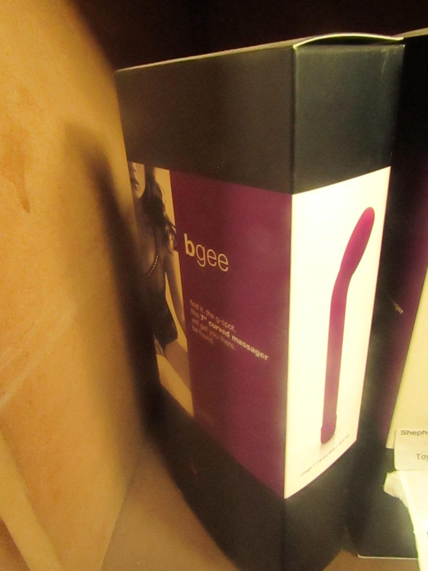 "Bswish Bnaughty 7"" Waterproof Massager - Purple - 7""x2.5"""