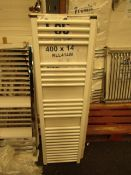 Loco 400x1400mm towel radiator, Please note, this radiator is ex-display and may contain minor marks