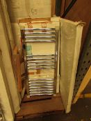 Warm Base 600x900 straight ladder rail radiator, Please note, this radiator is ex-display and may