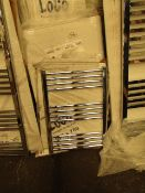 Loco 500x700mm towel radiator, Please note, this radiator is ex-display and may contain minor