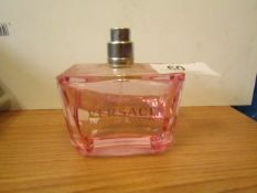 80ml bottle of Versace Bright Crystal Absolu, appears to be at least 60% full