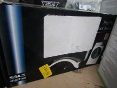 SLx Digitop Pro Flat Indoor Aerial - Untested & Boxed -