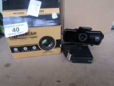 HD Webcam - Untested & boxed -