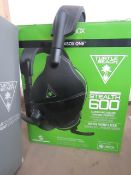 Turtle Beach Stealth 600 Wirelss Gaming Headset - For Xbox - TW for sound & Boxed - RRP £90