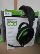 Turtle Beach Stealth 600 Wireless Gaming Headset - For Xbox - TW for sound & Boxed - RRP £90