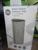 SLX Fabric Indoor Antenna (P10) - Untested & Boxed -