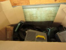 | 1X | PALLET OF FAULTY / MISSING PARTS / DAMAGED RAW CUSTOMER RETURNS ELECTRIC GARDEN POWER