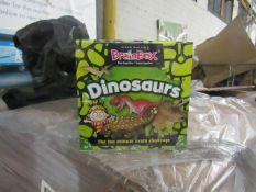 Brainbox - Dinosaurs Quiz Game - New & Packaged.