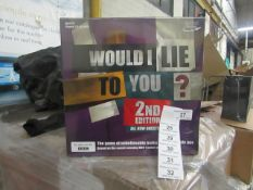 Rocket Games - Would I Lie To You - 2nd Edition - New & Packaged.