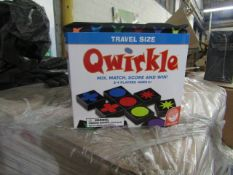 2x Qwirkle - Travel Size Activity Game - New & Packaged.