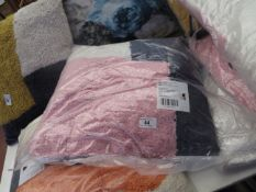 | 1X | SWOON PURCELL CUSHION, PINK,NAVY,WHITE | UNCHECKED & PACKAGED | RRP £39 |