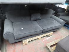| 1x | SWOON 3 SEATER SOFA | ITEM HAS BEEN REFURBISHED AS THIS IS NOTICABLE ON THE BACK REST | RRP