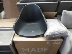 | 1x | MADE.COM BOONE UP TO 4 SEAT DINING CHAIR SET | LOOKS UNUSED (NO GUARANTEE) | RRP - |