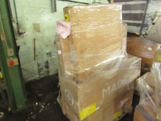 Mixed pallet of Made.com customer returns to include 8 items of stock with a total RRP of