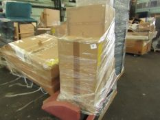 1 x Made.com Colter 60L Soft Close Double Recycling Pedal Bin x2 30L Cool Grey RRP £69 SKU MAD-AP-