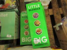 | 3X | MAGIC BULLETLITTLE BLENDERS | UNCHECKED & BOXED | NO ONLINE RESALE |