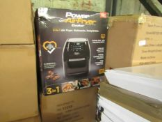 | 5X | POWER AIR FRYER 5.7L | UNCHECKED & BOXED | NO ONLINE RESALE | RRP £149.99 | TOTAL LOT RRP £