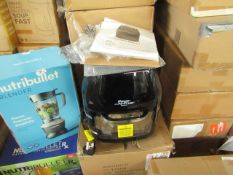 | 4X | POWER AIR FRYER COOKERS | UNCHECKED & BOXED | NO ONLINE RESALE | RRP £149.99 | TOTAL LOT