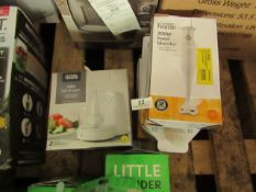 | 4 X VARIOUS ITEMS 3 X HAND BLENDERS & 1 X MINI CHOPPER | UNCHECKED & BOXED | NO ONLINE RESALE |