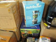 | 2X | NUTRI BULLET ITEMS 1 X BLENDER & 1 X RX | UNCHECKED & BOXED | NO ONLINE RESALE |