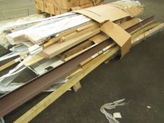 1x Pallet Containing approx 30 items of home improvement items, mainly looks to be parts relating to