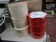 3x Diall - Masking Tape (24mm X 50m 3x Rolls Per Pack) - Unused & Packaged. B&Q - PVC Repairing Tape