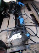 MacAllister - 430w 28cm Corded Electric Grass Trimmer - Untested & No Boxed.