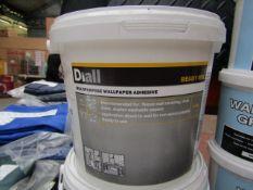 Diall - Multi-Purpose Wallpaper Adhesive (Ready Mix) - 3.5KG - Unused.
