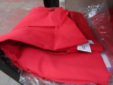 2x BenchMark - Work Trousers - Red - Size 48T - New & Packaged.