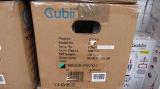   1X   CUBII UNDER DESK ELLIPTICAL WORKOUT   UNCHECKED & BOXED   NO ONLINE RE-SALE   RRP £179.99  