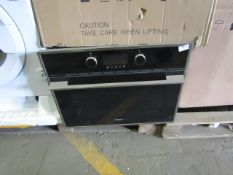 Teka Integrated Cooker - Untested - No major Damage Visible & 1 Glass Shelf, untested as needs
