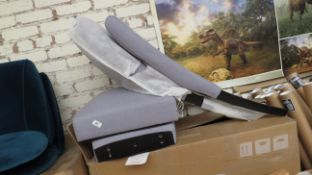   1X   MADE.COM SET OF 2 FLYNN DINING CHAIRS GRAPHITE GREY   UNCHECKED & BOXED   RRP £-  