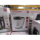 Morphy Richards Total Control soup maker, brand new and boxed. RRP £115