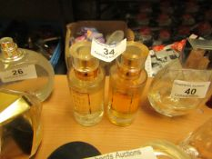 2 x Bronnley England 50ml Eau De Toilettes both aprrox 70% Full