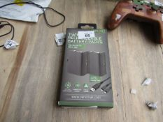 Venom Twin Rechargable Battery Pack for Xbox one - Untested & Boxed - RRP £20