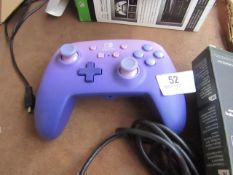 Nintendo Switch Controller, Purple Ombre - Untested & Unboxed- RRP £30
