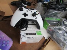PDP Wired Xbox Controller - Arctic White - Untested & Boxed - RRP £30
