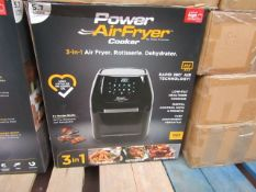   10X   POWER AIR FRYER 5.7L   UNCHECKED & BOXED   NO ONLINE RE-SALE   SKU C5060541513068   RRP £