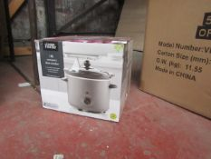   1X   1.8L SLOW COOKER   UNCHECKED & BOXED   NO ONLINE RESALE   SKU -   LOAD REFERENCE 2300216  