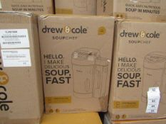   10X   DREW AND COLE SOUP CHEF   UNCHECKED & BOXED   NO ONLINE RESALE   SKU C5060541516809   RRP £
